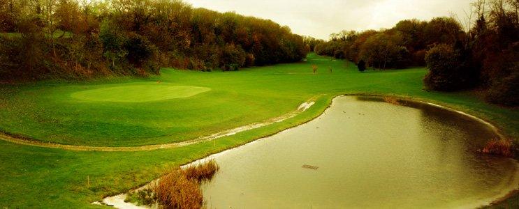 Golf de Caen avec Fred : La Plaine (9 trous) dans Parcours Trou-1-Plaine